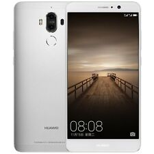 "Huawei Mate 9 Unlocked Smartphone with Dual Leica 5.9"" Silver  64GB 9/10"