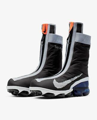 Nike Air Vapormax FlyKnit Gaiter ISPA Black Vapor Max Mens Sizes ...