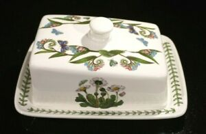 Beautiful-Portmeirion-Botanic-Garden-Daisy-Cheese-Plate-And-Cover