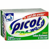 Picot Antacid Powder With Sodium Bicarbonate - Citric Acid 12 Ea (4 Pack) on sale