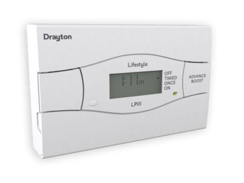 Drayton lifestyle lp111 24 hour timeswitch électronique
