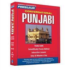 PIMSLEUR Learn to Speak PUNJABI Language 8 CDs NEW!!