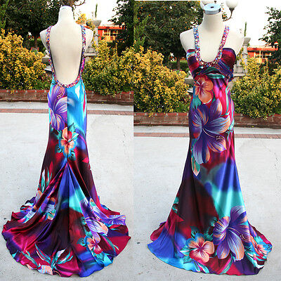 NWT BEYOND JOVANI $400 Purple Prom Party Ball Gown 2