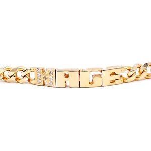 Custom-Name-Bracelet-Cuban-Chain-925-Silver-Chain-CZ-Gemstone-Gold-Plated