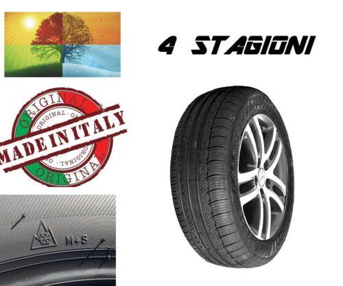 Gomme 4 STAGIONI omologata ECOQUATTRO S M+S made in Italy 185//60//15 R15 88 H