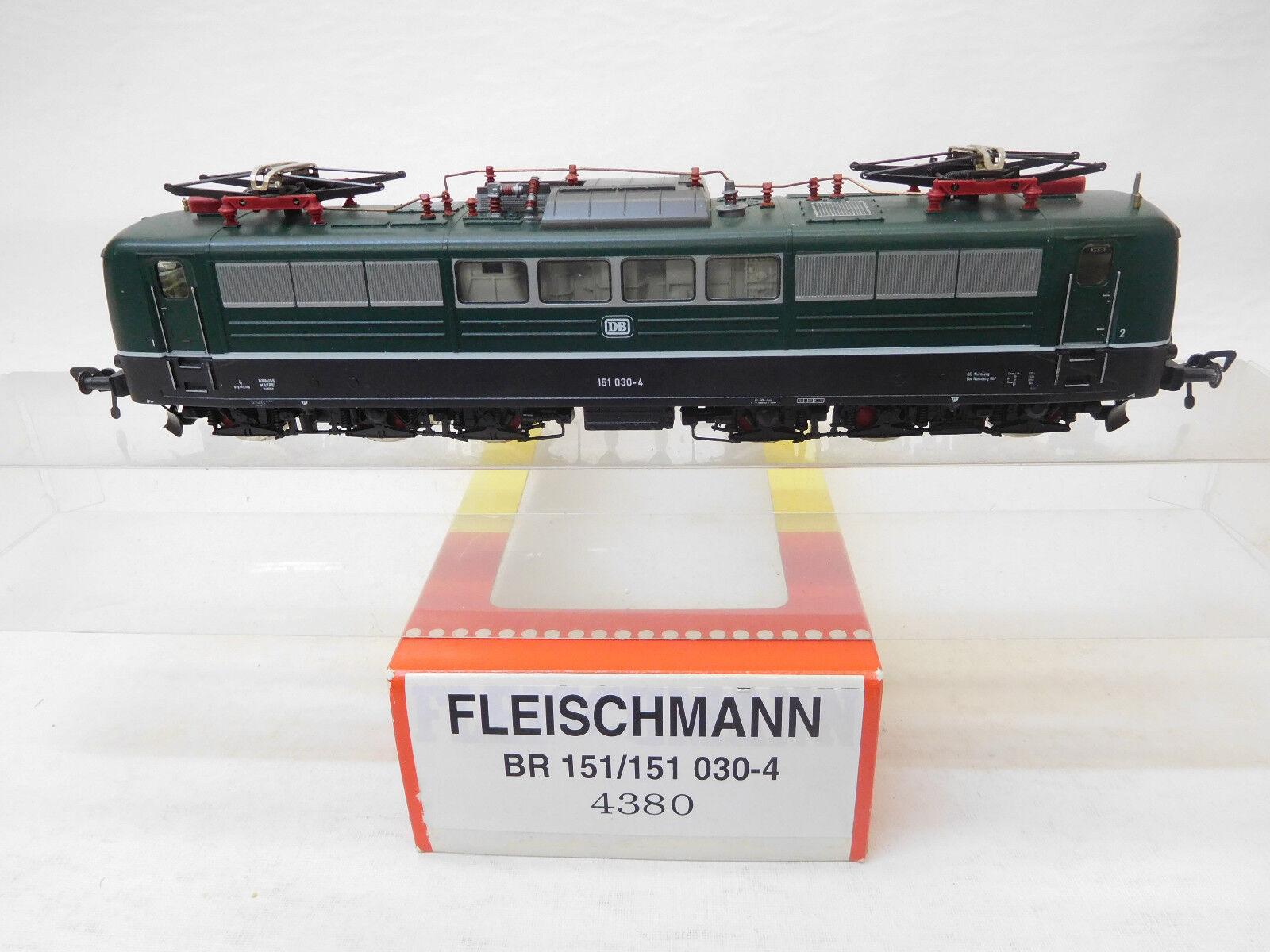 Mes-53830 Fleischmann 4380 h0 E-Lok DB 151 030-4 ottime condizioni