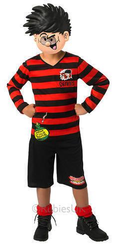 Dennis La Menace 5-10 ans robe fantaisie garçons Monde Livre Jour Childs Kids Costume