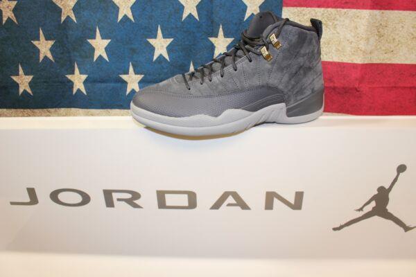 the best attitude 9c0b8 efa9e Nike Jordan Retro 12  Dark Grey  130690-005  Brand New ...