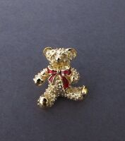 Vintage 1989 Avon Teddy Bear Pin