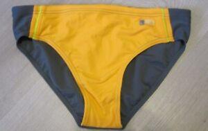 ADIDAS-Performance-Youth-Young-Men-039-s-Swimwear-Orange-Gray-Swim-Brief-SMALL-28-034