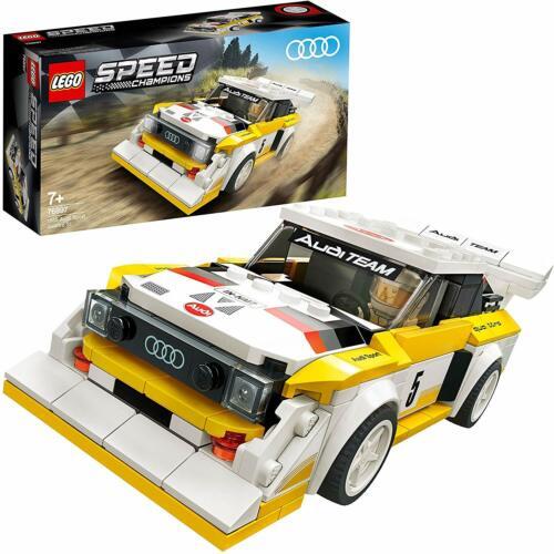LEGO 76897 Speed Champions 1985 Audi Sport Quattro S1 Rally Car Building Toy Set