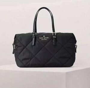 Spade Kate 98687299367 York New zwarte portemonnee Lyla handtas kleine Lane gewatteerde in Watson c1TFKJl
