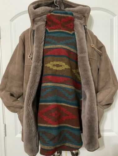 Overland Sheepskin Company coat Jacket Hoodie