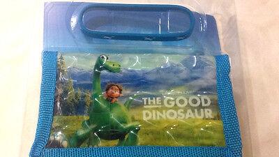 The Good Dinosaur Disney - Portafoglio In Tessuto E Braccialett - Coriex - Nuovo Delizie Amate Da Tutti