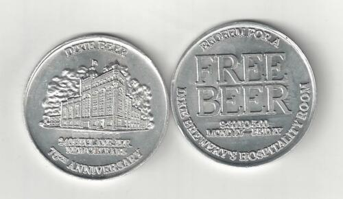 1982 DIXIE BEER BREWERY 75TH ANNIVERSARY GOOD FOR COIN TOKEN NEW ORLEANS MEDAL