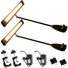 2x Bright Trade Show Led Light For Exhibit Backdrop Display Warm White Ul Power
