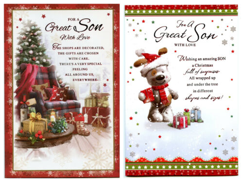 SON CHRISTMAS 2 QUALITY DESIGNS TO CHOOSE FROM