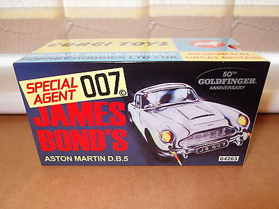 Corgi James Bond Aston Martin DB5 Goldfinger 50th Anniversary CC04203
