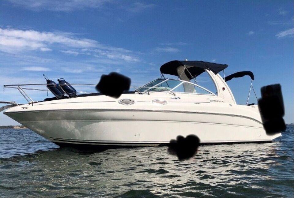 Sea Ray 260/275 Sundancer (ferskvandskølet), Motorbåd,