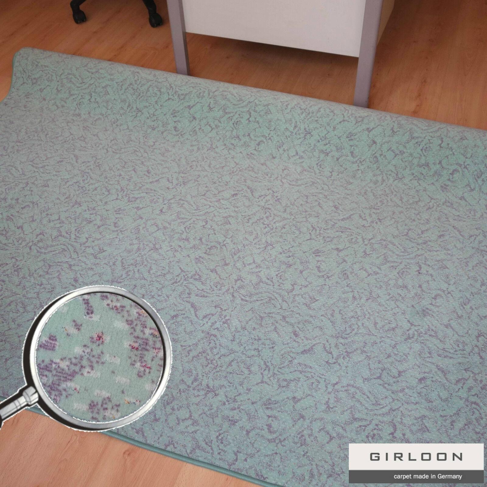 Saldi Oggetto Tappeto Tappeto Tappeto Girloon Menta   Lilla Parte Posteriore in Tessuto 6901a5