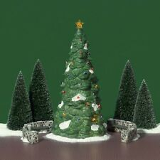 DEPARTMENT 56 #5565-4 HERITAGE VILLAGE TOWN TREE SET OF 5