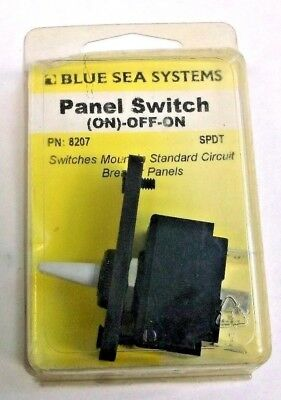 Blue Sea Systems Boat//RV 8206 Panel Toggle Switch 3 Position SPDT On//Off//On