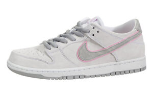 best service 35264 2dcac Image is loading Nike-SB-ZOOM-DUNK-LOW-PRO-IW-White-