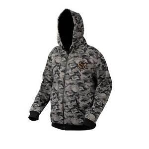 Savage Gear Black Savage Zip Hoody NEW Fishing Camo Hoody  All Sizes ... b31aa7745a