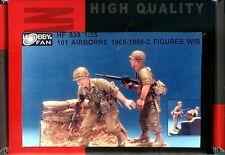 Hobby Fan 1/35 HF-539 US 101 Airborne 1965-1966 (Vietnam War) - 2 Figures w/Base