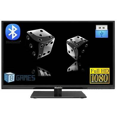 "BlackOx 24MS201 24"" Bluetooth-MHL-USB-Games- Full HD LED TV -3 Yrs Wty"