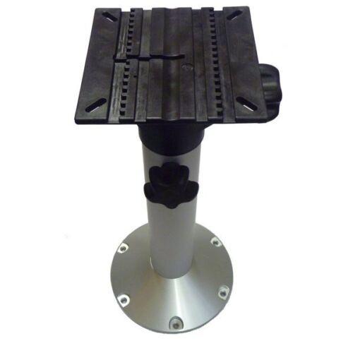 "19-25.25/"" // 483-643mm Aluminium Height Adjustable Boat Seat Pedestal"