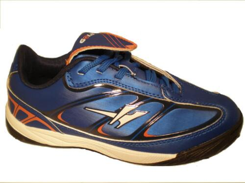 BOYS KIDS GOLA FOOTBALL ASTRO TURF BLUE TRAINERS SCHOOL SHOES SIZE 1 2 3 4 5 6
