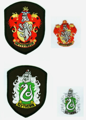 HARRY POTTE 4CREST SET HARRY POTTER 4CREST PATCH SET