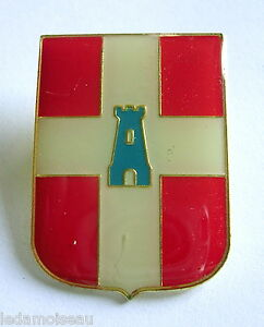 Insigne Blason De France Atlas, Valentinois, Dimensions: 35 X 25 Mm, Voir Photos Prtxakdw-08003755-796462607