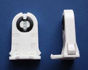 fassung durchsteckfassung f r t8 leuchtstoffr hre leuchtstofflampe g13 ebay. Black Bedroom Furniture Sets. Home Design Ideas