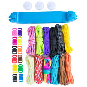Image Is Loading Professional Paracord Bracelet Jig Crafting Diy Weaving Making