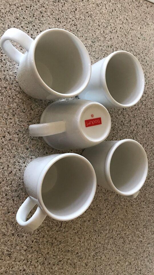 Porcelæn, Kaffekopper, Bodum
