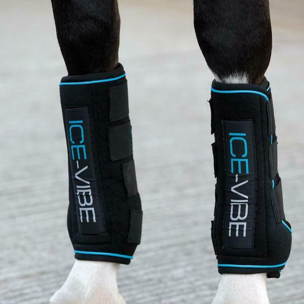 Horseware Ireland Ice-Vibe Stiefel Front  Hind Gamaschen Reitsport Beinschutz