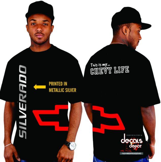 Custom Shirt for CHEVROLET Silverado 1500 2500 HD 3500 HD Crew Cab Ext and more