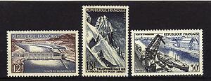 France-1956-Yvert-1078-1080-Neuf-MNH