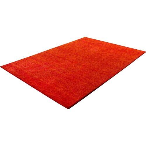 Large 100/% WOOL RUGS Heavy Thick Soft Luxurious Stylish Carpet Mottled Orange