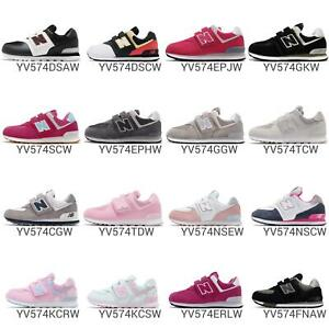 New-Balance-YV574-W-Wide-574-Kids-Youth-Junior-Preschool-Shoe-Sneakers-Pick-1