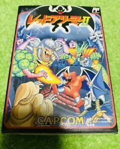 New Red Arremer 2 Gargoyle S Quest Nintendo Famicom Fc Nes Game Japan Ebay