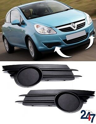 NEW OPEL VAUXHALL CORSA D FRONT BUMPER FOG GRILLE LEFT N//S 6400634 2006-2010