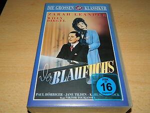 UFA-Klassiker-Der-Blaufuchs-Zarah-Leander-Willy-Birgel-VHS-Raritaet