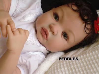 REBORN SHYANN  ALEINA  PETERSEN CUSTOM MADE BABY GIRL CHOOSE HAIR/EYE  PEBEBE