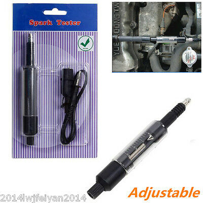 Adjustable Coil Overs Spark Tester Detector Autos Ignition Test Diagnostic Tool
