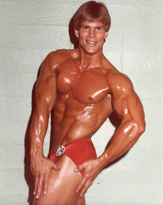 Vintage 1980/'s Body Builder Competition Muscle Beefcake Gay Interest Photo #1141