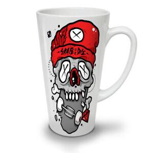 Dead Skull NEW White Tea Coffee Latte Mug 12 17 oz | Wellcoda