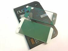 Nuglas GREEN Front + Back Coloured Tempered Glass Screen Protector for iPhone 5